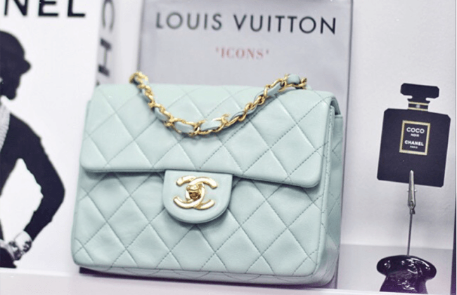 Chanel Pastel Vintage Mini Flap