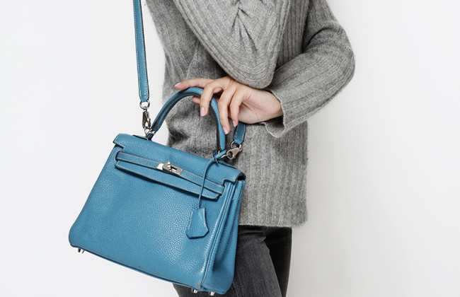 Hermes kelly 25 blue jean